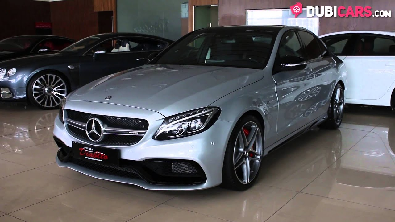 2016 mercedes benz c 63 amg s v8 youtube for Mercedes benz v8 amg