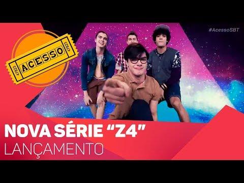 Lançamento da nova série do SBT: Z4 - TV SOROCABA/SBT