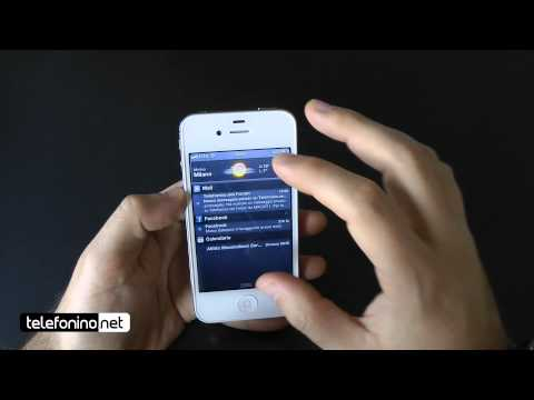 Apple iPhone 4s videoreview da Telefonino.net