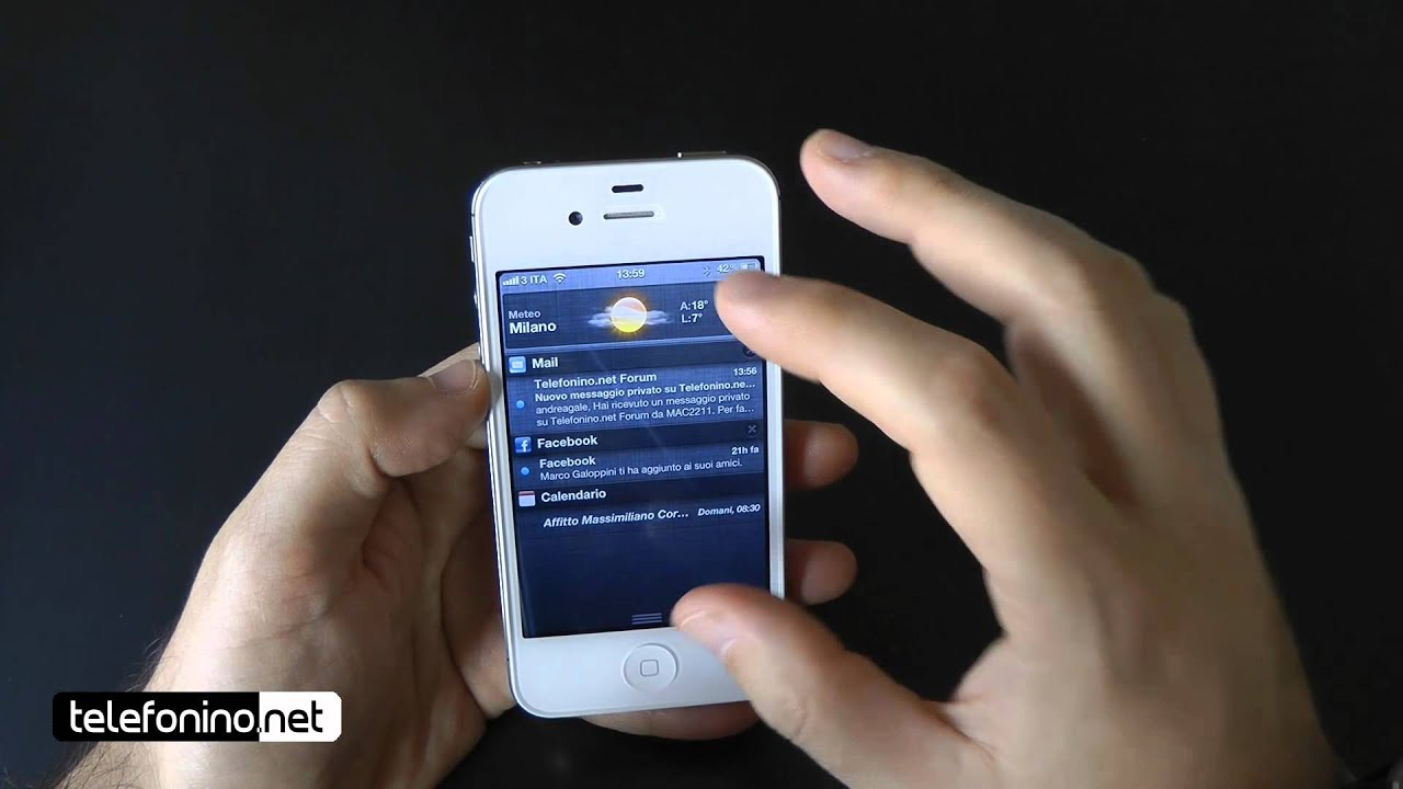 youtube for iphone 4 apple iphone 4s videoreview da telefonino net 7204