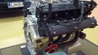 Maserati Engine Coffee Table By High End Engine Tables