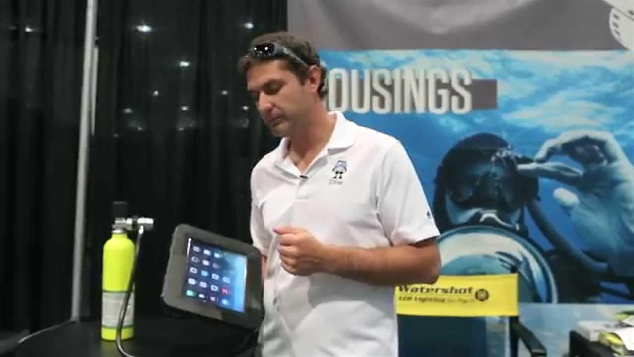 iDive Case for Scuba Diving with the iPad - YouTube
