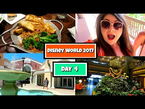 Disney World Vlogs May 2017 : Day 4 | Shopping, Walmart and Ohana