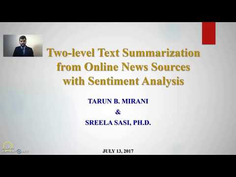 Text Summarization Presentation