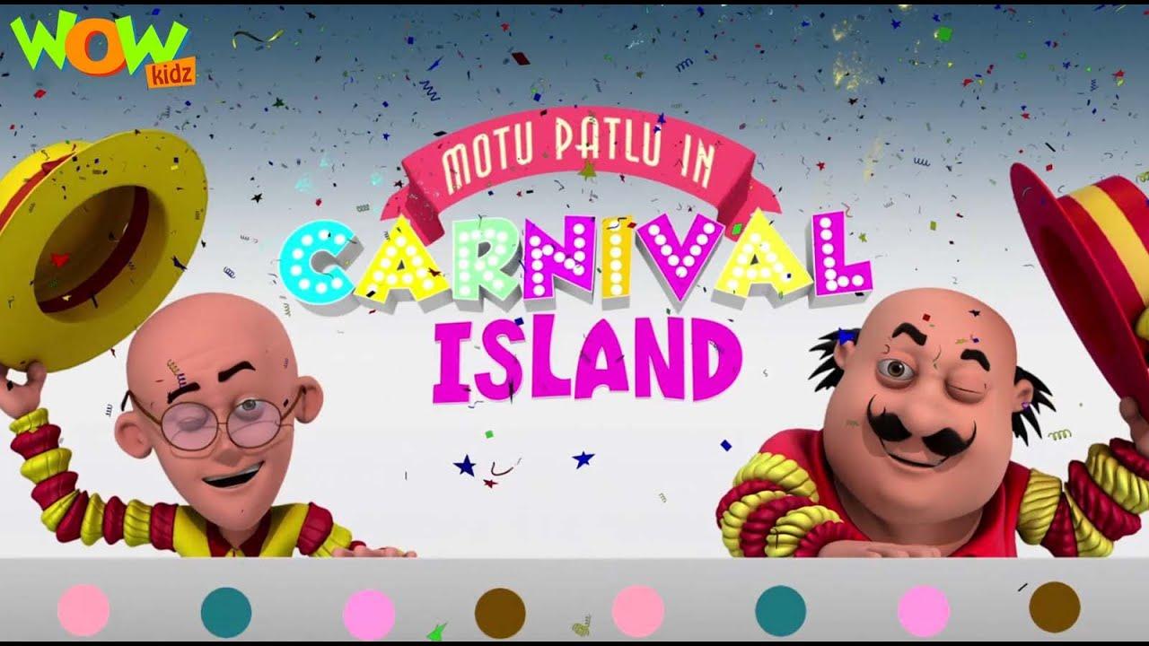 Download MOTU PATLU movies for KIDS | Motu Patlu In Carnival Island | Full Movie | Wow Kidz