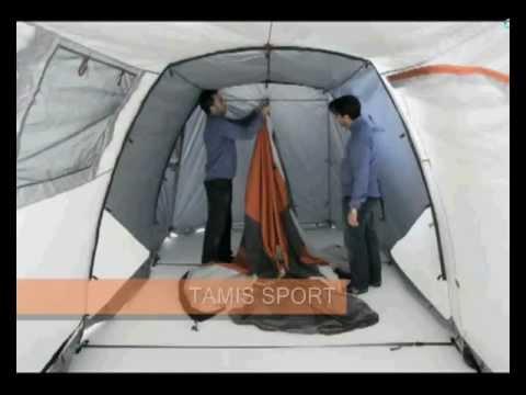 4 Posti Blu Ferrino Chanty 4 Deluxe Family Tenda
