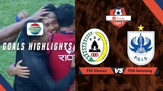PSS Sleman (1) vs (3) PSIS Semarang - Goals Highlights | Shopee Liga 1