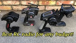 Best RC radio transmitter for ANY budget!