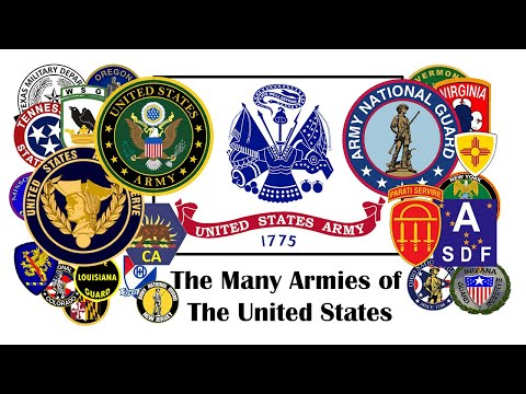 Military Civics: The Many Armies of the United States