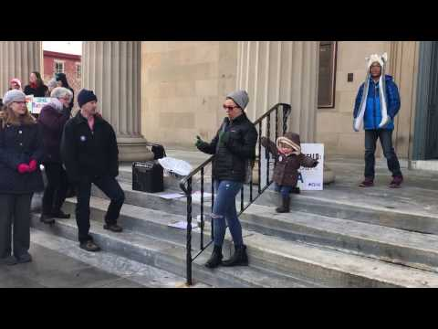 West Chester PA Rally For Women's Healthcare 3/11/17