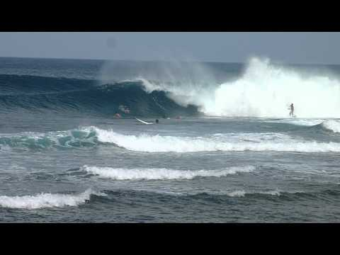 Surfing at Cloud 9, General Luna, Siargao Island, Philippines