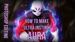 Making of Ultra Instinct Aura with Jiren