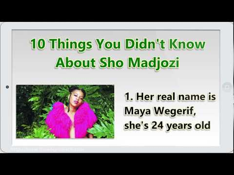 10 Things You Didn't Know About Sho Madjozi