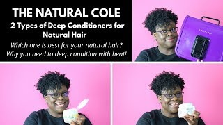 Best 2 Types of Deep Conditioners for Natural Hair - 4C Hair | The Natural Cole
