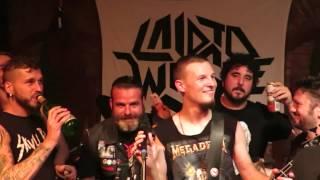 LAID TO WASTE - křest desky - Pilsen Thrash Night - club Parlament, Plzeň – 18.9.2015