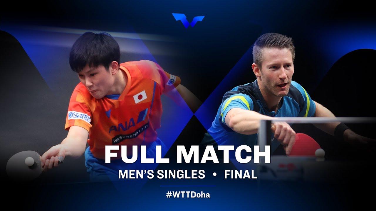 Download Tomokazu Harimoto vs Ruwen Filus   WTT Star Contender Doha 2021 - March (FULL Match)