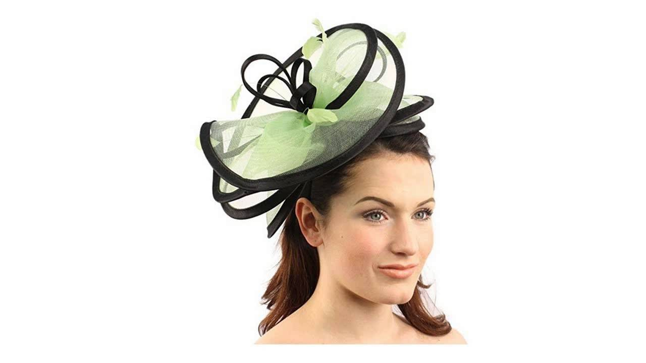 Lime Green Fascinators for Wedding Events - Beauty You Will Always Enjoy fd48c551803