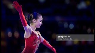 ALINA ZAGITOVA European Championship FS ЧЕ 2018 с переводом комментариев Olympic channel