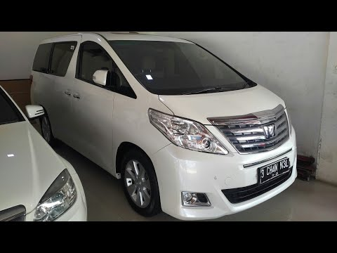 In Depth Tour Toyota Alphard 2.4 G ANH20 2014 Indonesia
