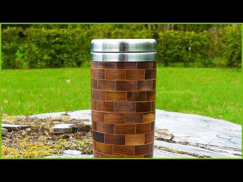 Making a Segmented Faux Brick Tumbler