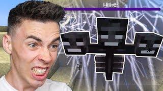 Walczę z WITHEREM w Minecraft!