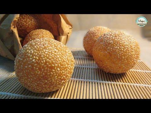 BÁNH RÁN LÚC LẮC – Cách làm Bánh rán lúc lắc nở to tròn, dẻo, thơm| MỘC