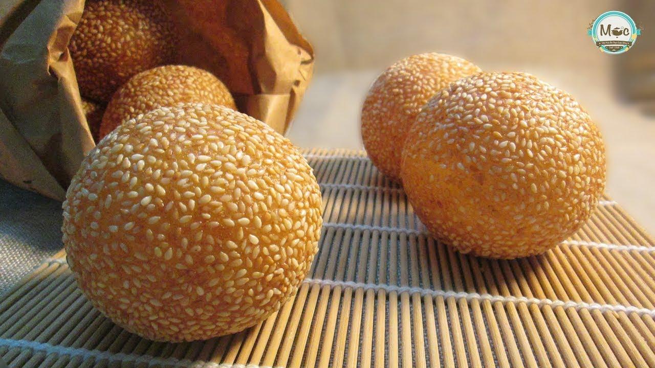 BÁNH RÁN LÚC LẮC - Cách làm Bánh rán lúc lắc nở to tròn, dẻo, thơm