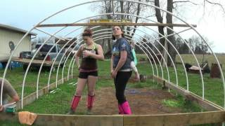 Green House Build on the cheap Part 2 of 3