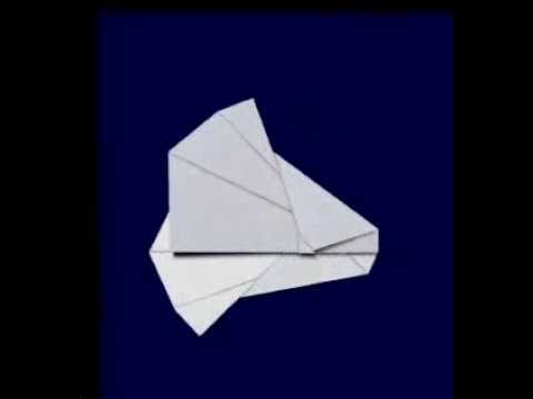"""(часть 2) """"Планер"""" оригами"""