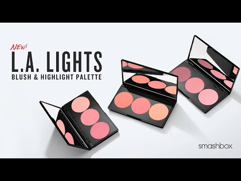 GET RADIANT FLUSHED CHEEKS: L.A. LIGHTS BLUSH & HIGHLIGHT PALETTE