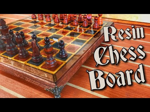 How to Make a Chessboard Out of Epoxy Resin
