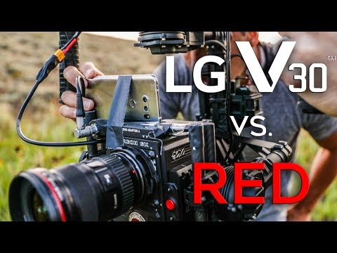 Watch: Here's how LG V30's camera compares with $50,000 RED Weapon