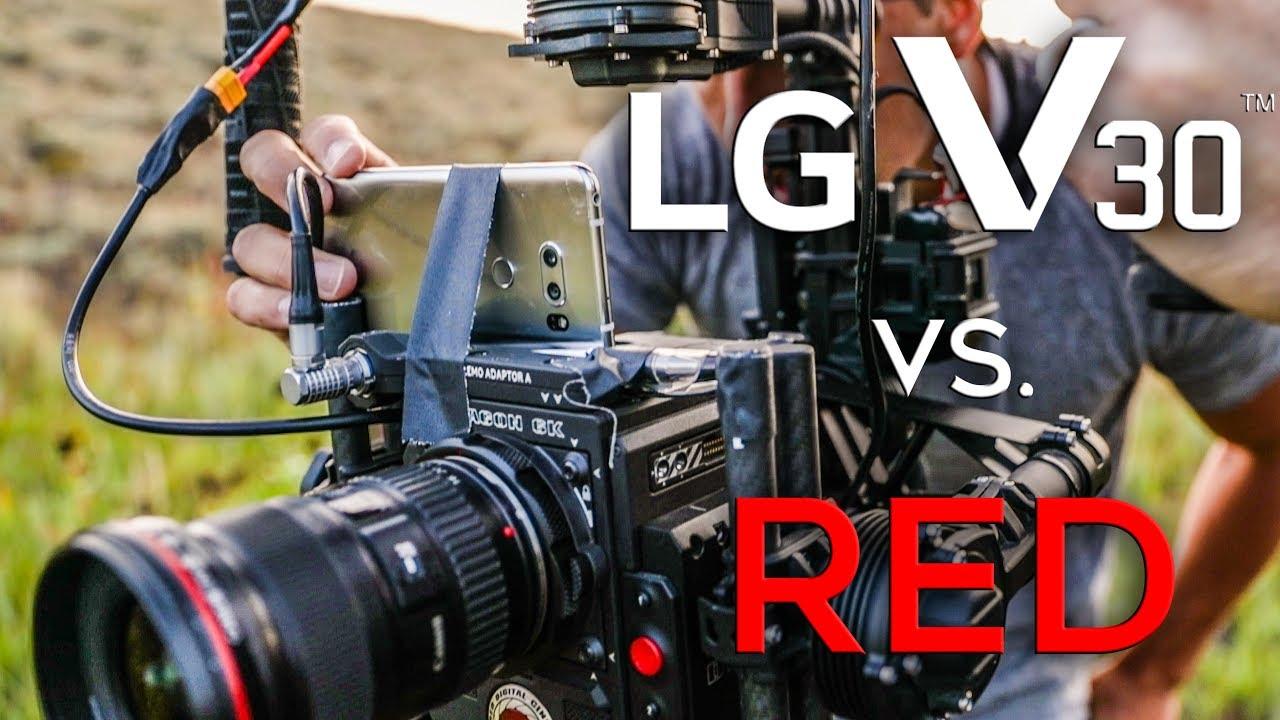 LG V30 so kè chất lượng quay film với máy quay chuyên nghiệp của Hollywood! - 206381