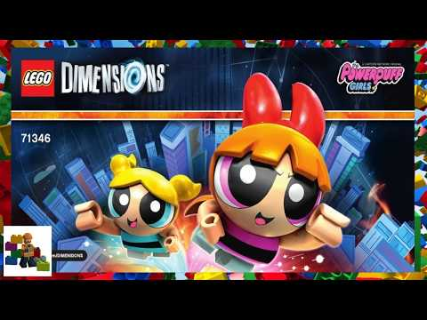 LEGO Instructions - Dimensions - 71346 - The Powerpuff (Super Skunk)