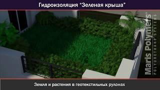 видео Зеленая кровля - новости материалов