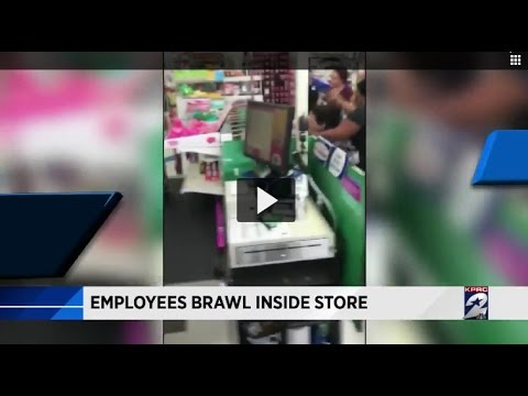 Co-workers fight about lunch break at 99 Cents Only store, witness says