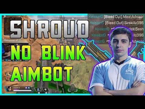 APEX.EXE - SHROUD NO BLINK AIMBOT | Apex Legends Funny Moments & WTF/Fail Highlights #3