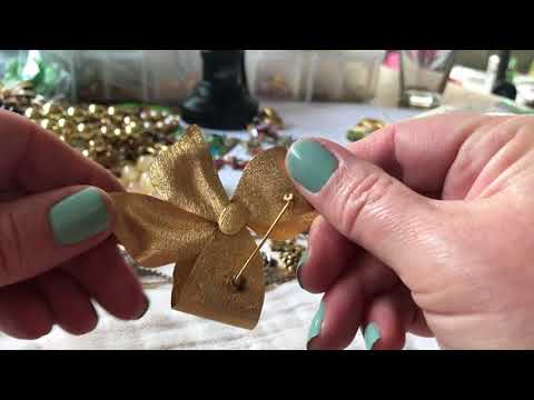 Vintage jewelry haul antique shop