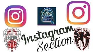 #INSTAGRAM section - - - wrestle detector on instagram