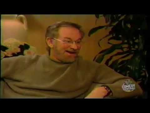 Jiminy Glick Interviews Steven Spielberg