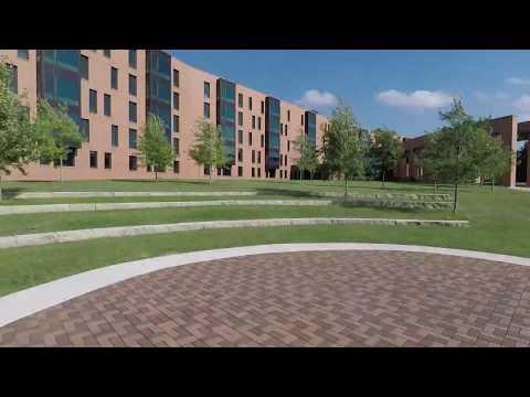A walk through UW Oshkosh Campus