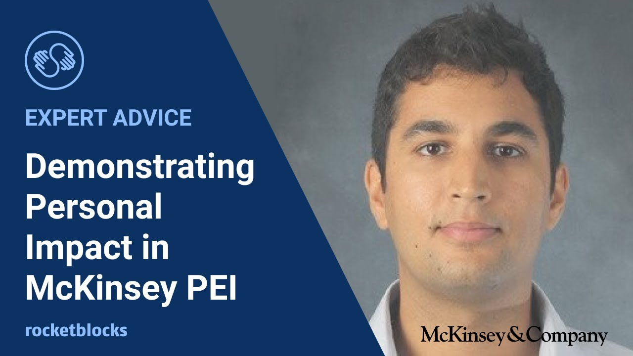 What is the McKinsey & Co  personal experience interview (PEI)?