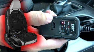UNBOXING | SOJOY Soft & Thick Universal 12V Heated Car Seat Cover