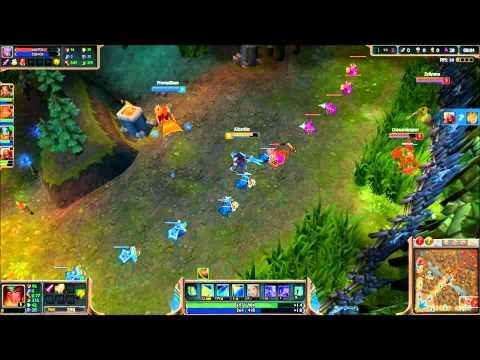 League of Legends - Snowstorm Sivir - Gameplay