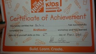 Home Depot Kids Workshop In Punta Gorda
