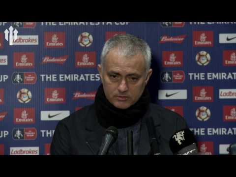 Jose Mourinho: Send in the Cavalry! Blackburn Rovers 1-2 Manchester United PRESS CONFERENCE