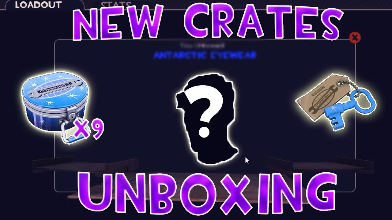 Tf2 Unboxing New Blue Moon Crates What Is This Luck