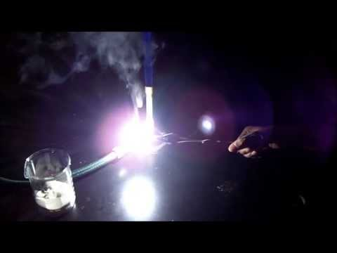 Burning Of Magnesium Metal - Dazzling Demonstrations