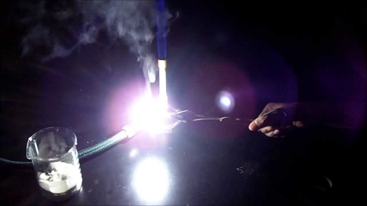 Burning Of Magnesium Metal Dazzling Demonstrations Youtube