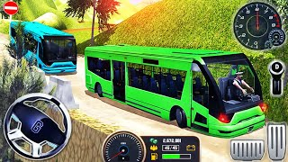 Uphill Coach Bus Driving Simulator 2020 - Offroad Mobile Bus Transporter Drive - Android GamePlay #2 screenshot 3